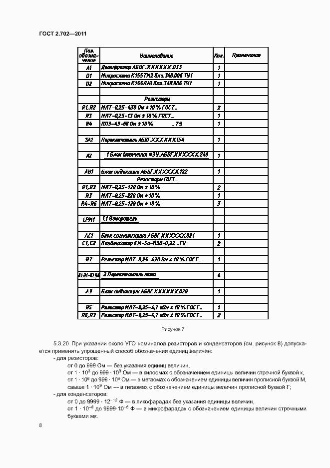 ГОСТ 2.702-2011. Страница 12