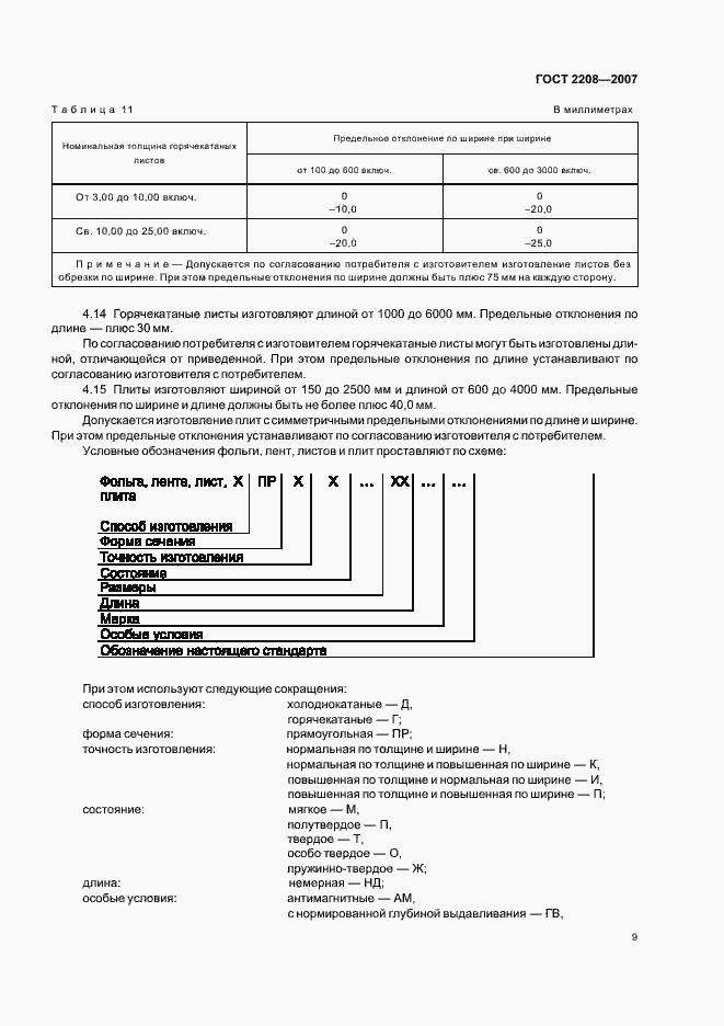 ГОСТ 2208-2007. Страница 13