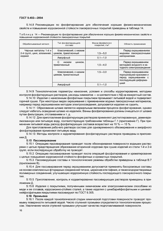 ГОСТ 9.402-2004. Страница 20