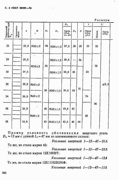 ГОСТ 20197-74. Страница 4