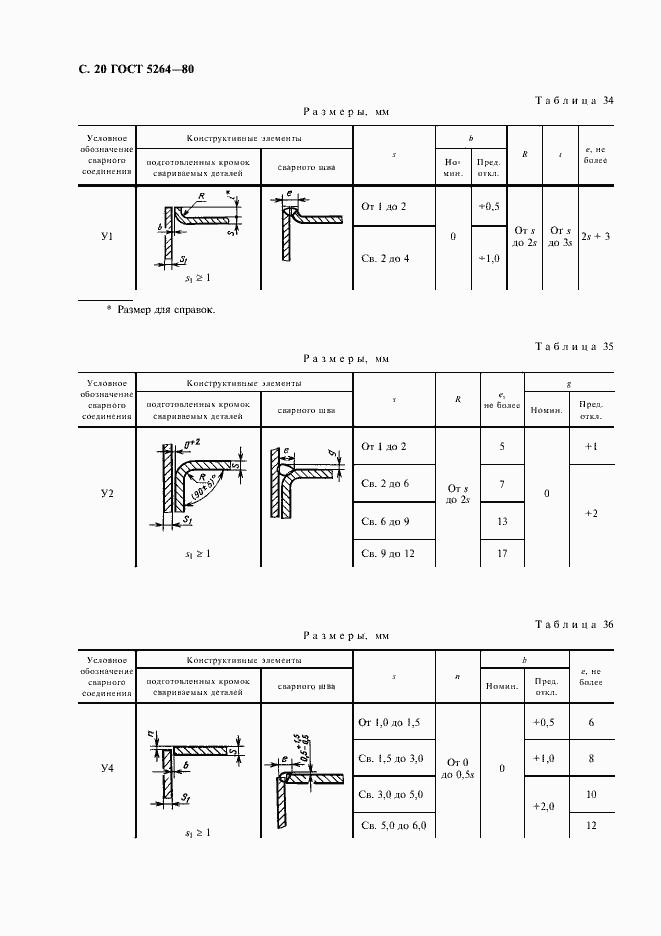 ГОСТ 5264-80. Страница 22
