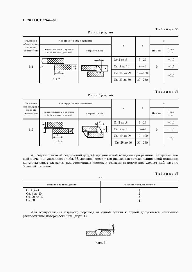 ГОСТ 5264-80. Страница 30