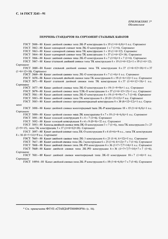 ГОСТ 3241-91. Страница 15